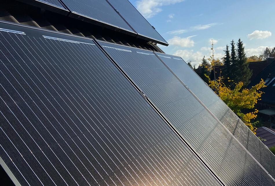 Leistungen - Photovoltaikanlagen